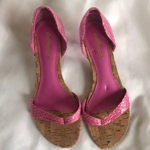 Dollhouse kitten heels